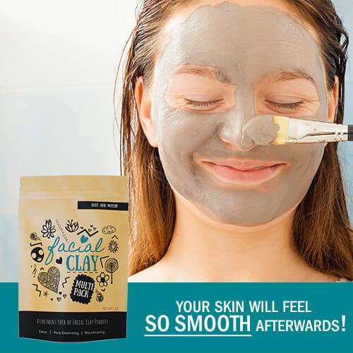 Clay mask that will make your skin SO smooth