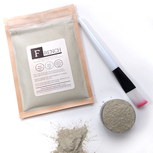 French Green Clay Face Masks