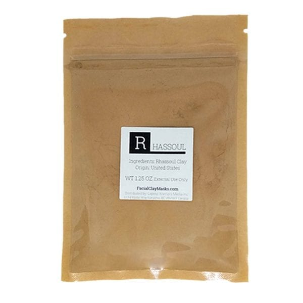 Rhassoul Clay 50g | Clay for Oily Skin that helps with ongoing Oil Production