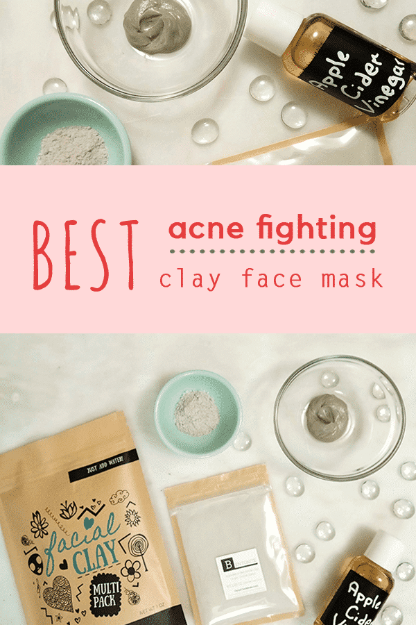 Best Mask for Acne | Bentonite clay and apple cider vinegar mask