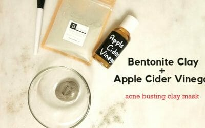 Bentonite + Apple Cider Vinegar Mask Recipe