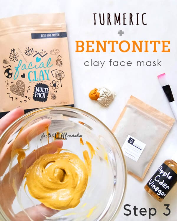Bentonite Turmeric Mask - Crazy good on Acne 6