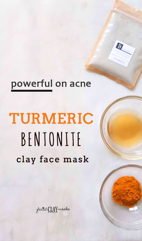 Turmeric Bentonite Clay Mask