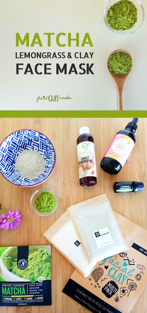 Matcha Clay Mask Recipe DIY