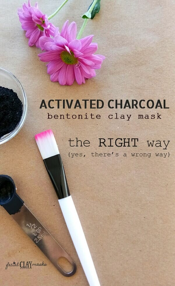 Activated Charcoal Face Mask Done the Right Way