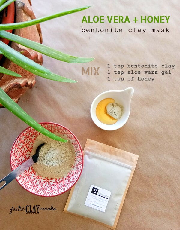 Aloe Vera Clay Mask Instructions