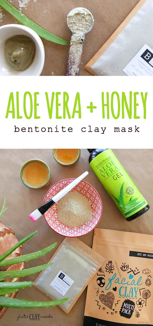 Aloe Vera Clay Mask Recipe DIY