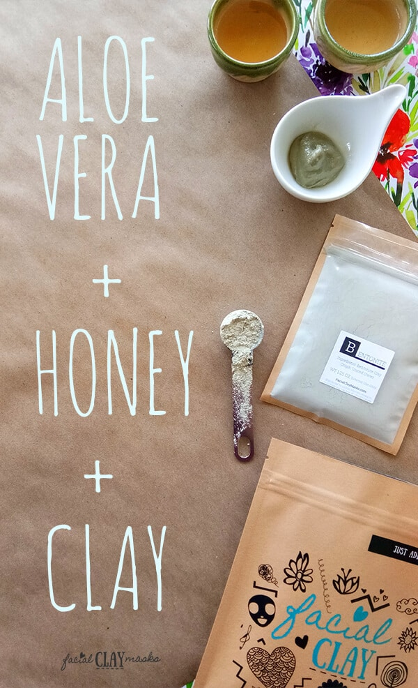 Aloe Vera Honey Clay Face Mask Recipe
