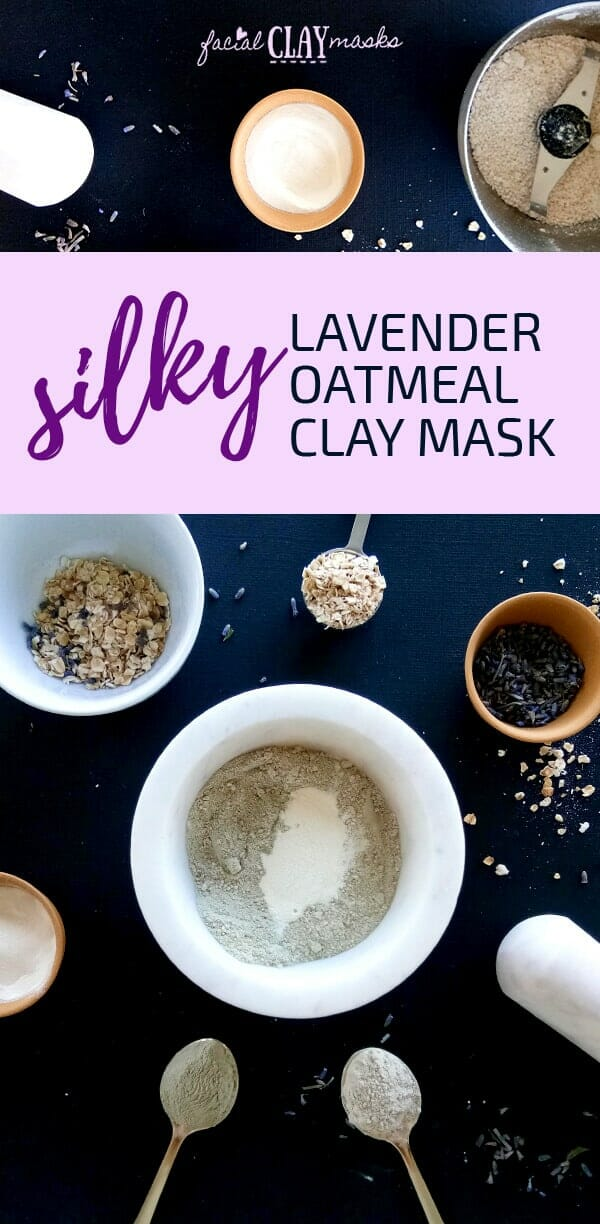 Lavendar Oatmeal Clay Mask Dry Recipe