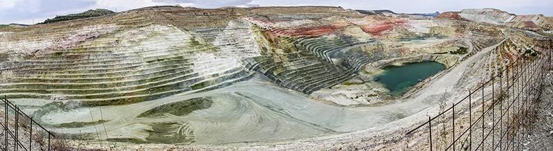 Bentonite Clay Quarry in Greece