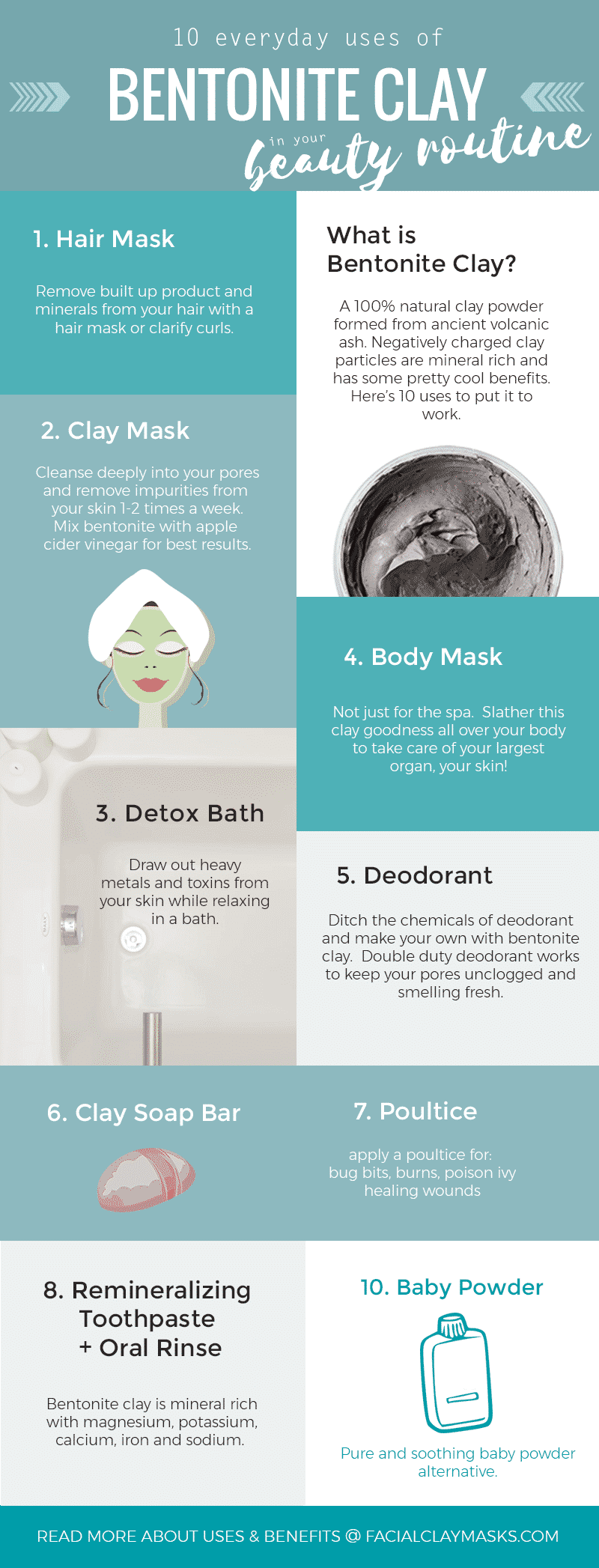 Definitive Guide to Bentonite Clay + 10 Everyday Uses and Benefits 11