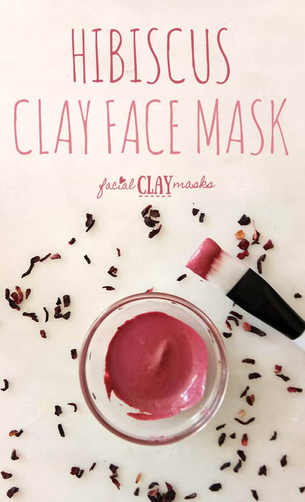 Hibiscus Clay Face Mask