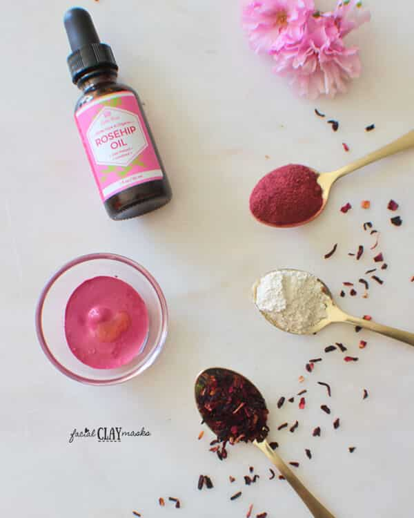 Simple Hibiscus Clay Mask 6