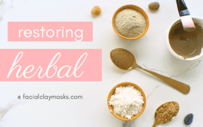 Restoring Herbal Face Mask