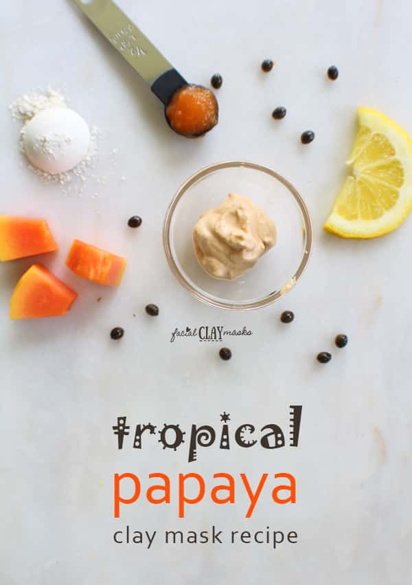 Tropical Papaya Face Mask for Radiant Skin