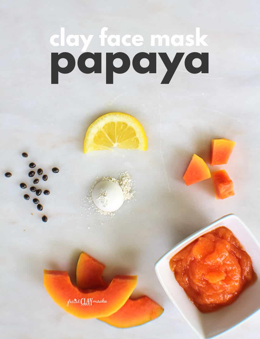 Tropical Papaya Face Mask 3
