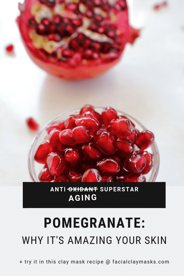 Antioxidant Rich Pomegranate Face Mask 2