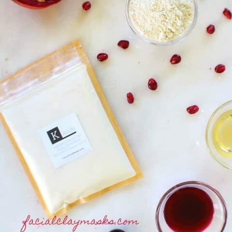 Pomegranate Face Mask Recipe Instructions