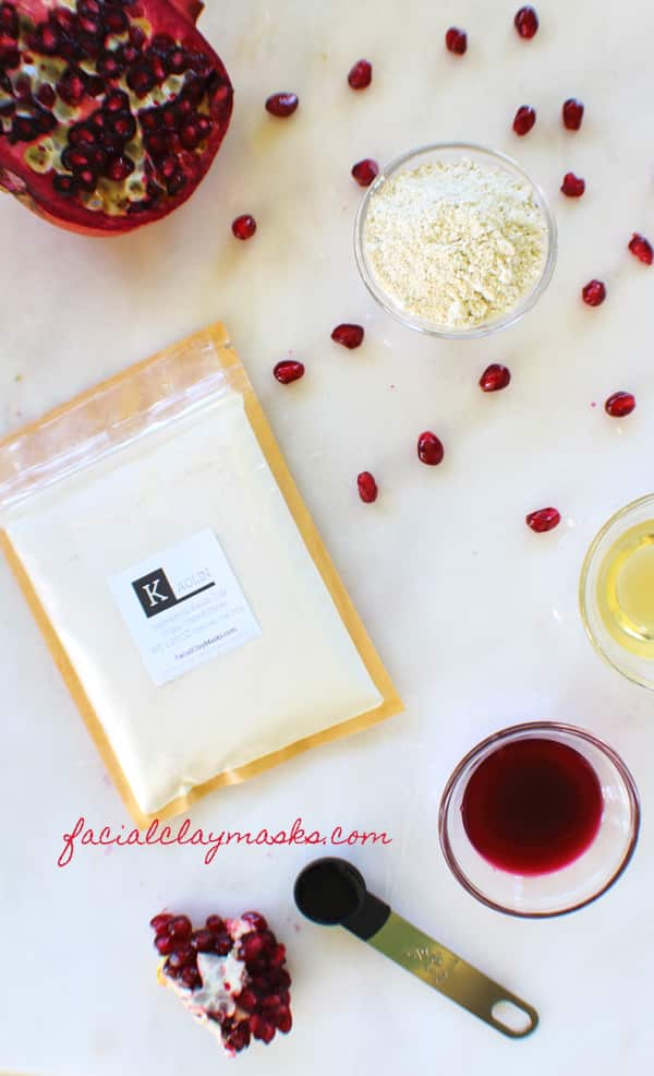Antioxidant Rich Pomegranate Face Mask 8
