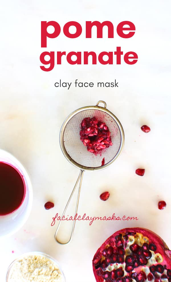 Antioxidant Rich Pomegranate Face Mask 7
