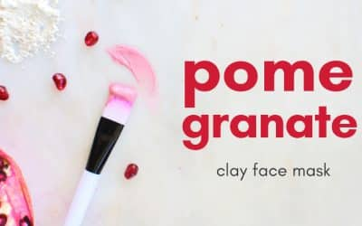 Antioxidant Rich Pomegranate Face Mask