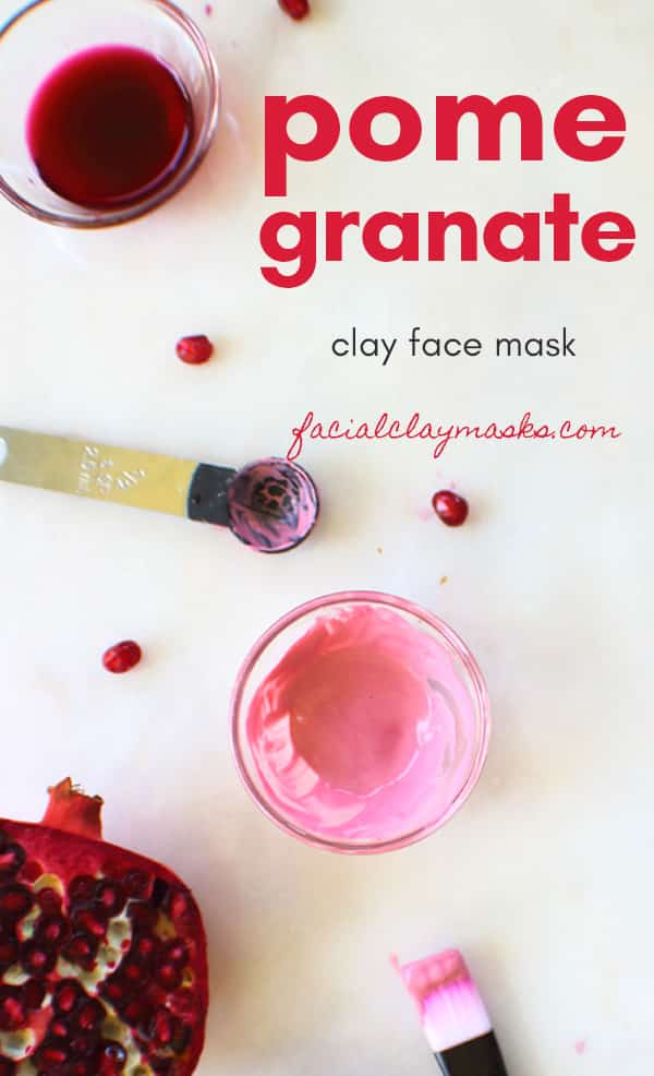 Antioxidant Rich Pomegranate Face Mask 9