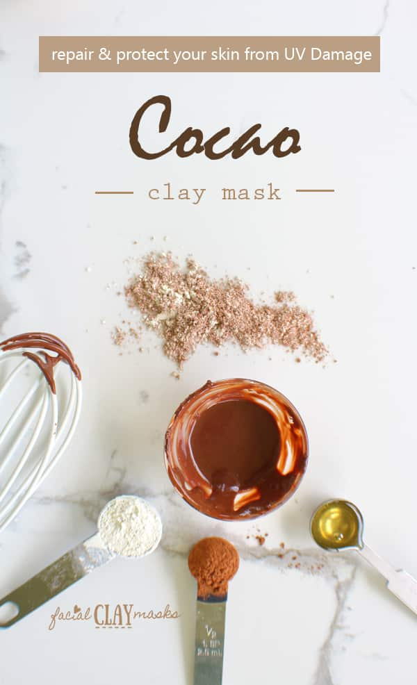 Repair and Protect Skin from UV Damage with Cocao Face Mask