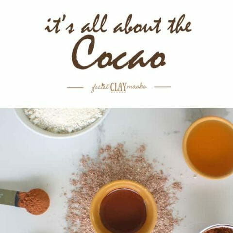 Cocao DIY Face Mask Recipe with Kaolin Clay