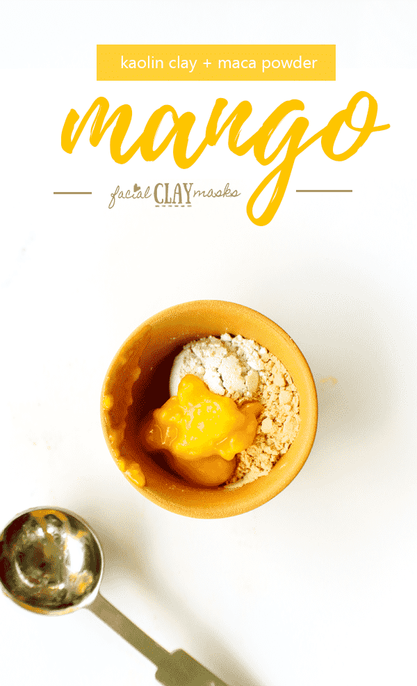Mango Puree Face Mask How to Instructions