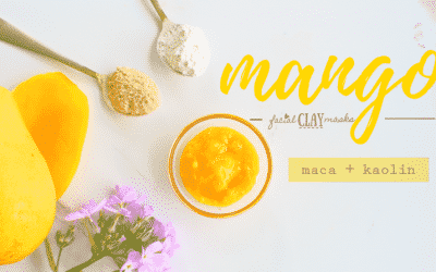 Vitamin C Packed Mango Clay Mask