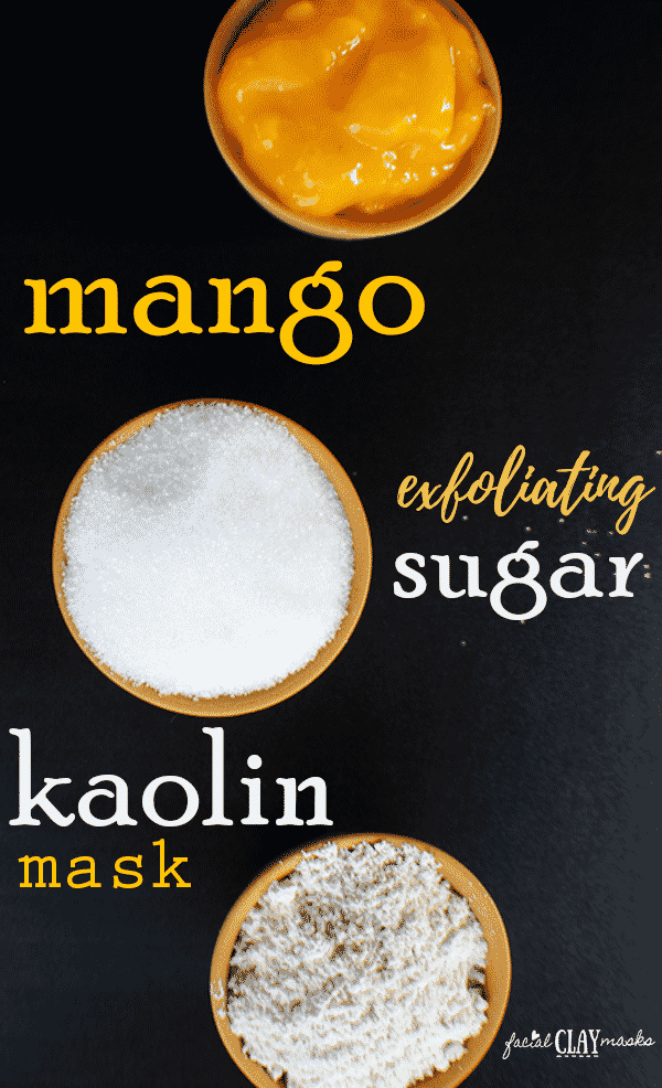 Exfoliating Mango Sugar Scrub Mask 2