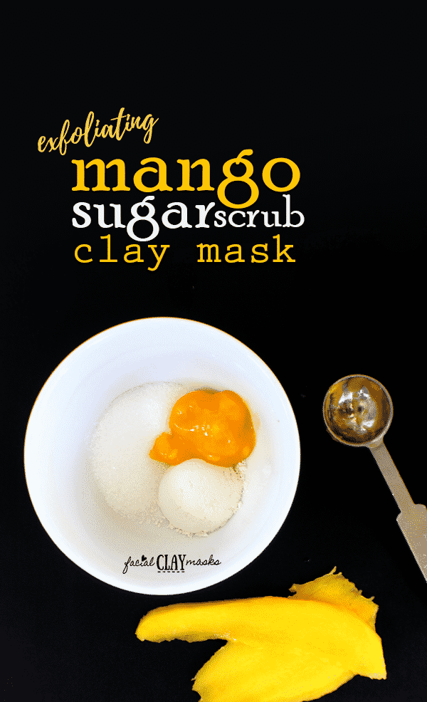 Exfoliating Mango Sugar Scrub Mask 3