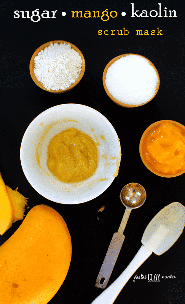 Exfoliating Mango Sugar Scrub Mask 4