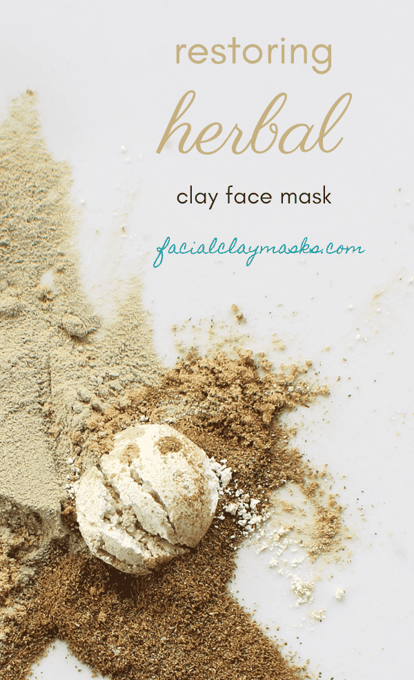 Restoring Gotu Kola Face Mask Recipe | Herbal Clay Mask