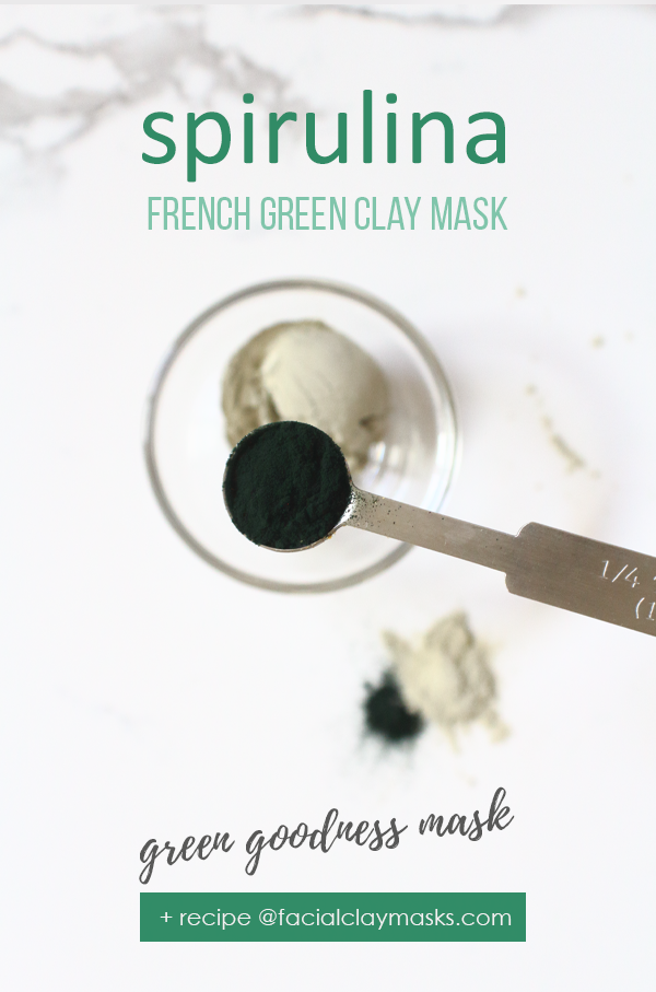 Green Goodness Spirulina Mask 5