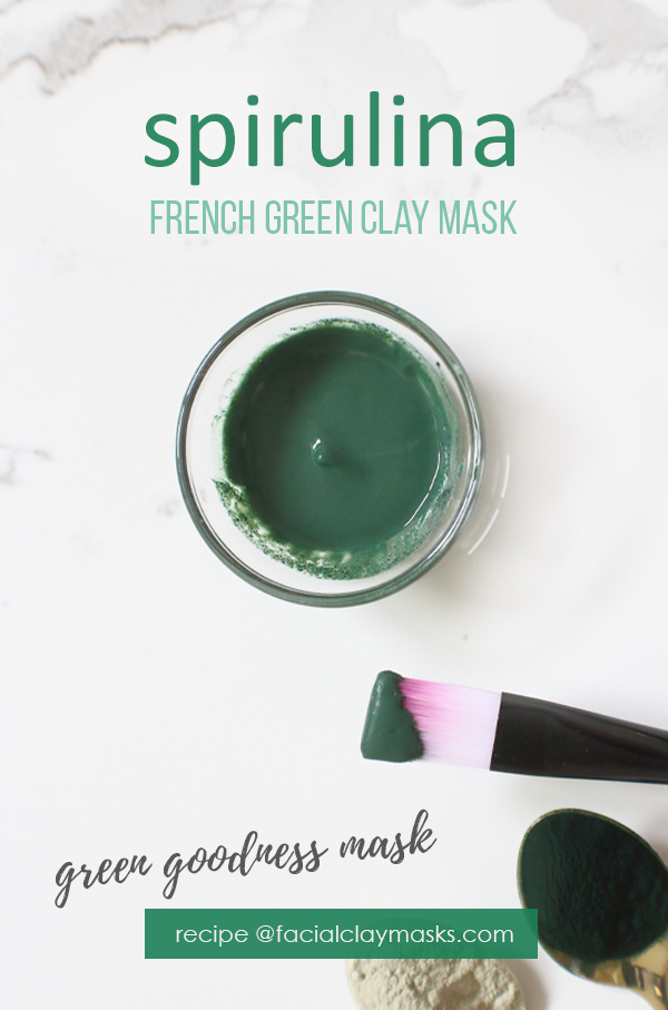 Green Goodness Spirulina Mask 6