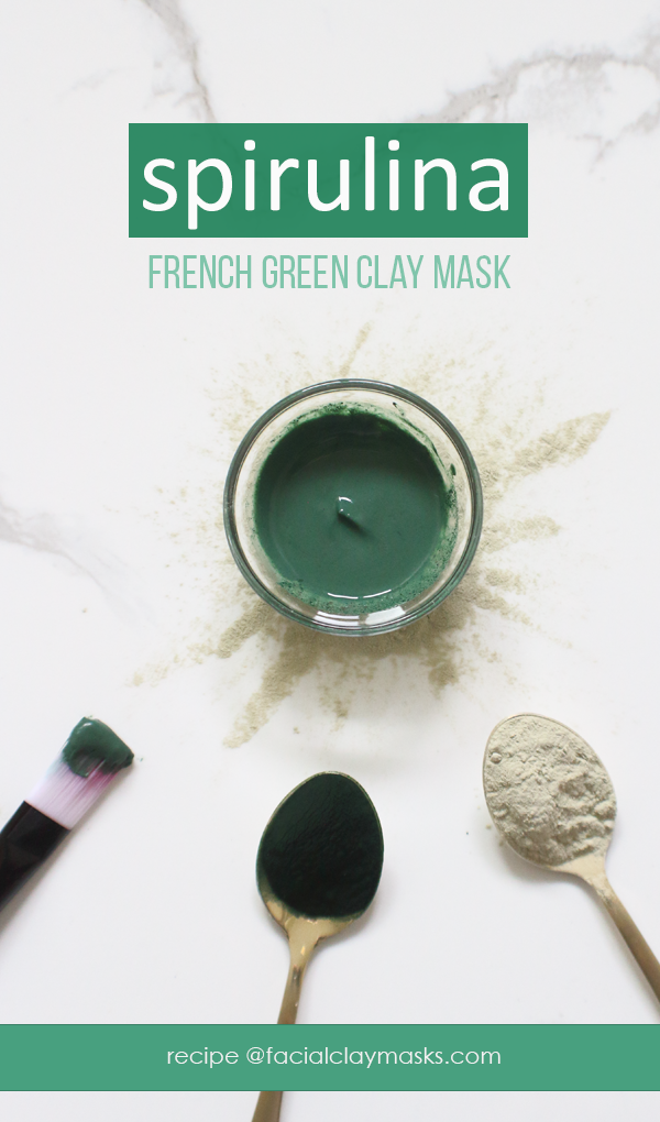 Green Goodness Spirulina Mask 7