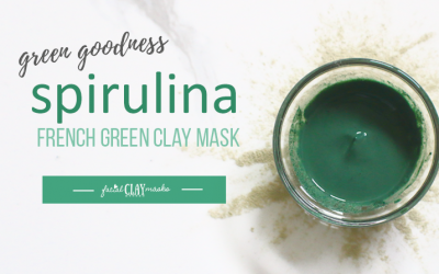 Green Goodness Spirulina Mask