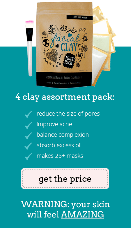 Facial Clay Mask Assortment Pack | Clay Masks