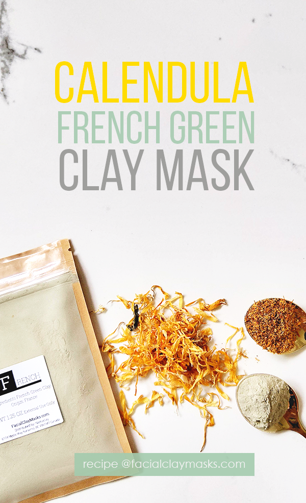 Calming Calendula Face Mask 1