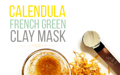 Calming Calendula Face Mask