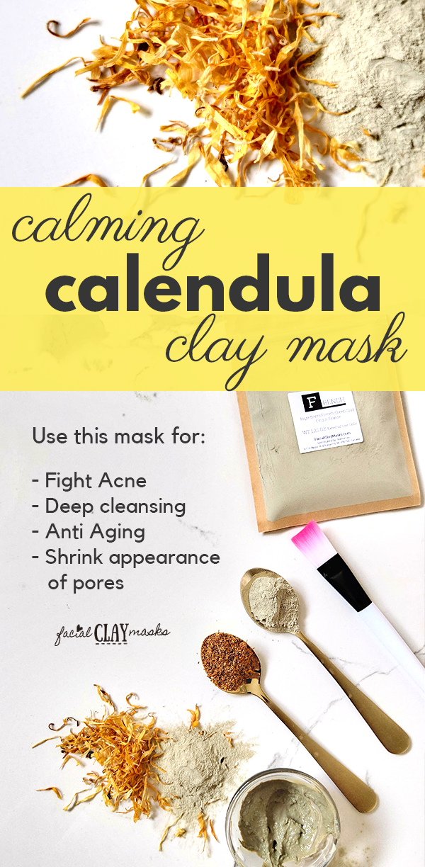Calming Calendula Face Mask 9