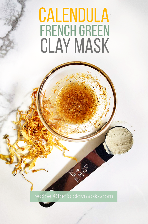 Calming Calendula Face Mask 7