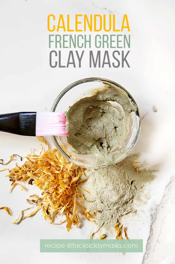 How to Mix Calendula Face Mask Recipe
