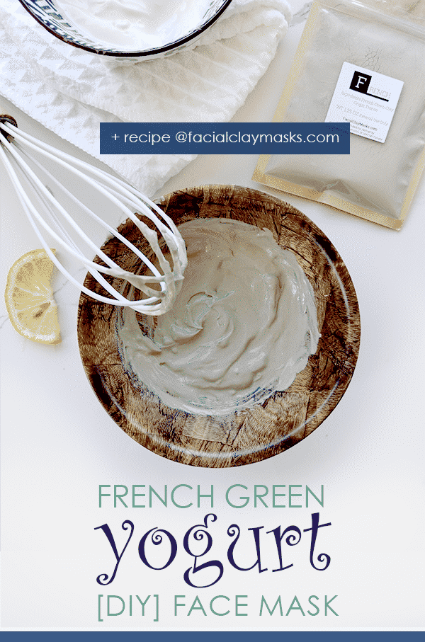 French Green Clay and Yogurt Face Mask 1