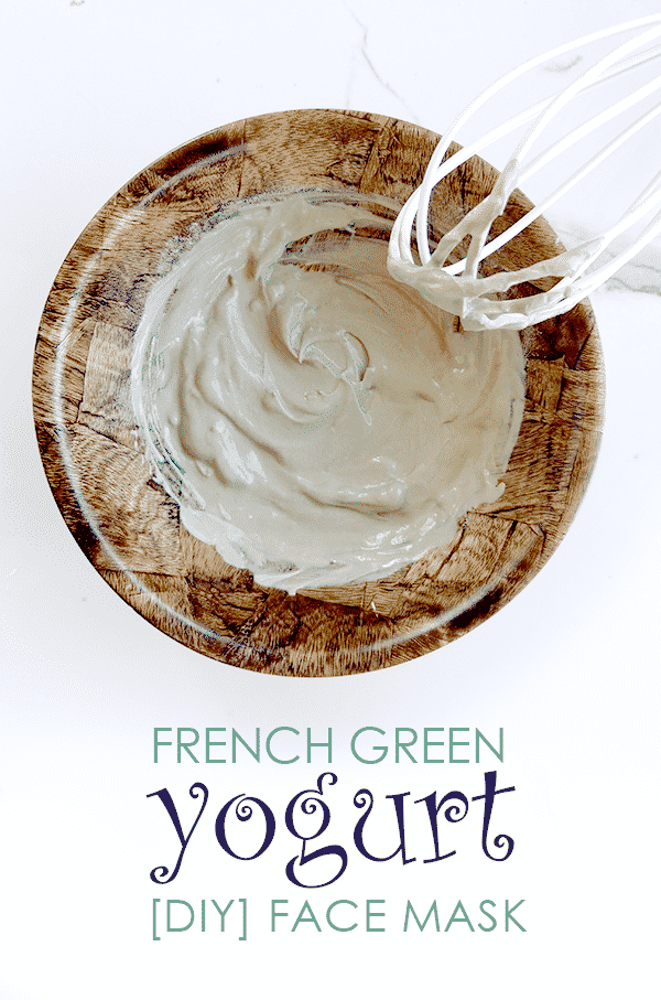 French Green Clay and Yogurt Face Mask 4