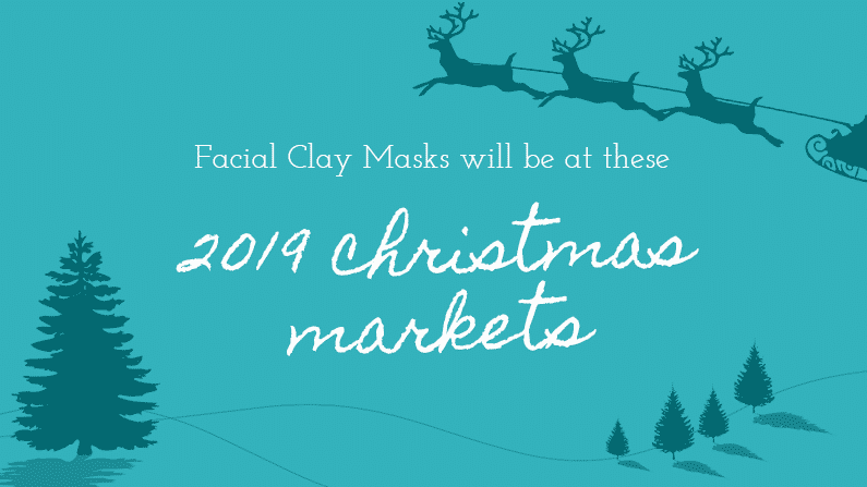 Find Facial Clay Masks at these 2019 Christmas Markets