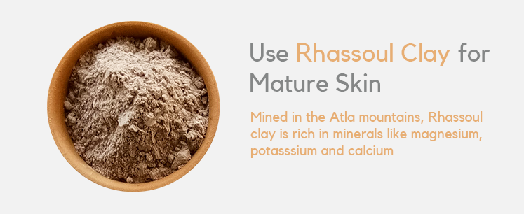 Are clay masks good for mature skin? 2