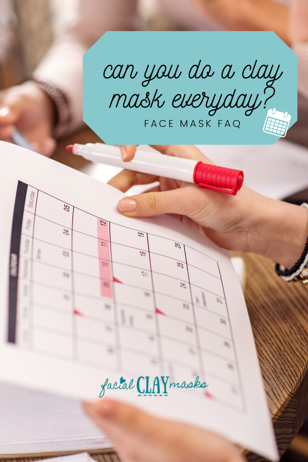 Can you use a clay mask everyday? 1