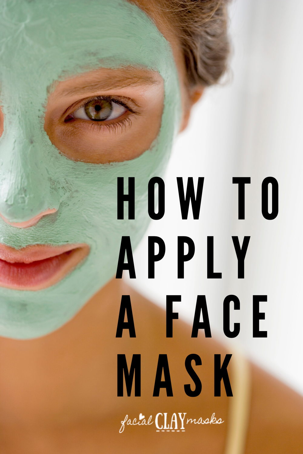 How to Apply Face Mask 1